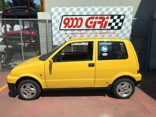 Fiat Cinquecento Sporting powered by 9000 Giri