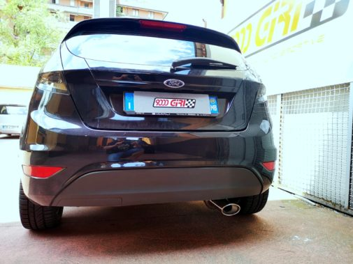 Ford Fiesta 1.2 16v powered by 9000 Giri