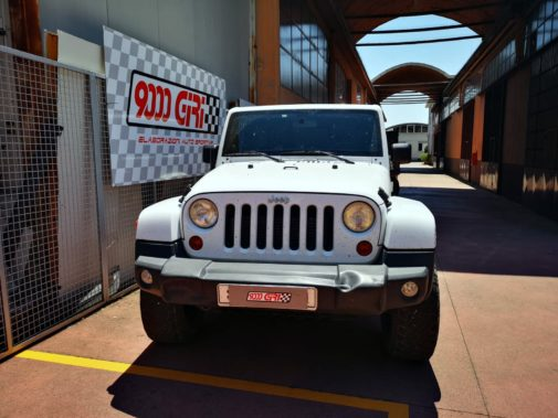 Jeep Wrangler Jk 2.8 Crd Unlimited powered by 9000 Giri