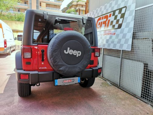 Jeep Wrangler Jk 2.8 Crd powered by 9000 Giri