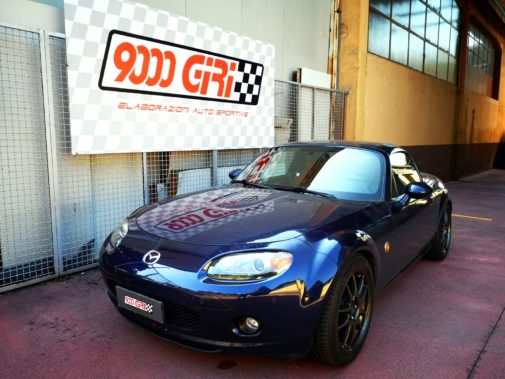 Mazda Mx5 powered by 9000 Giri
