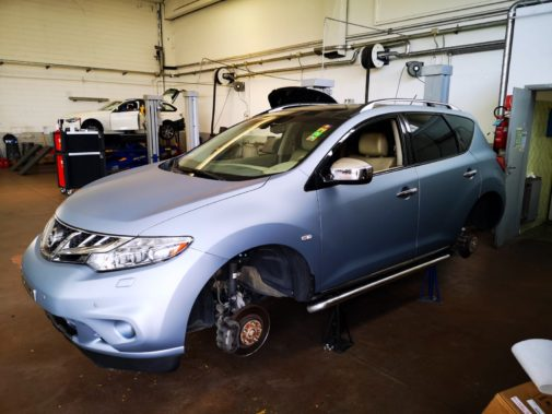 Nissan Murano 3.0 Td powered by 9000 Giri