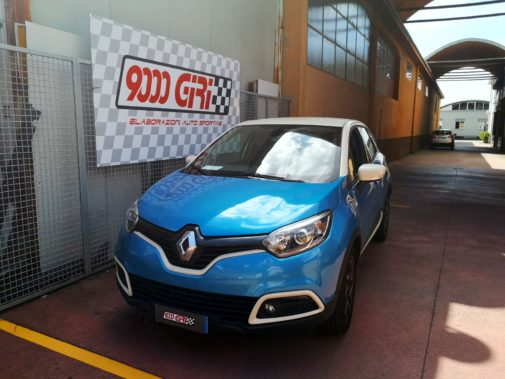 Renault Capture 1.5 dci powered by 9000 Giri