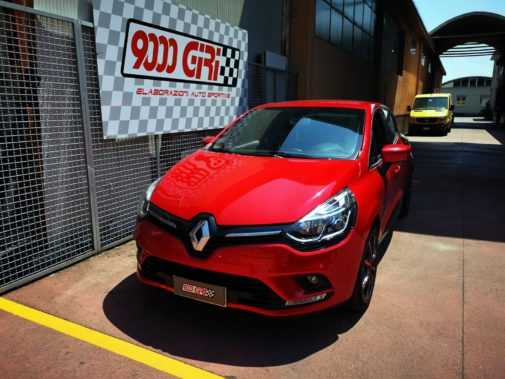Renault Clio 1.5 Cdi powered by 9000 Giri