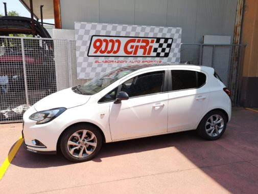 Opel Corsa 1.4 powered by 9000 Giri