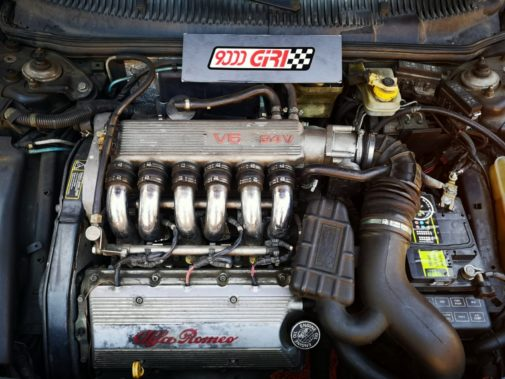 Alfa Romeo 156 2.5 V6 powered by 9000 Giri