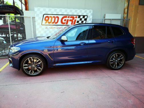 Bmw X3 M40i powered by 9000 Giri