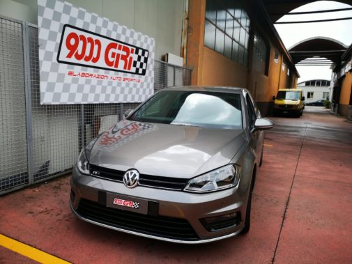 Vw Golf 1.6 tdi powered by 9000 Giri