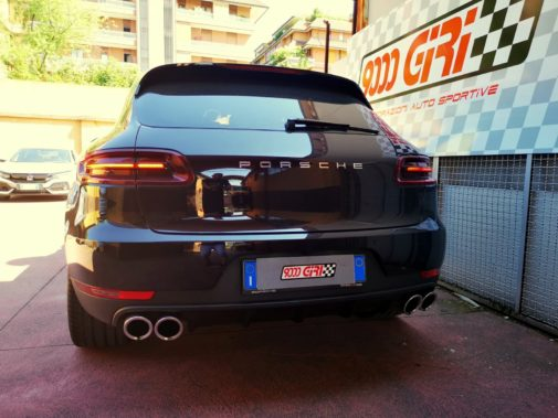 Porsche Macan powered by 9000 Giri