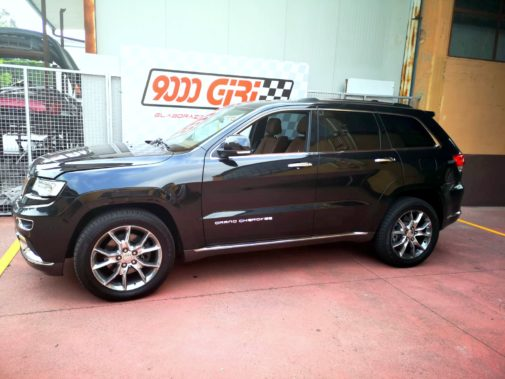 Jeep Grand Cherokee 3.0 powered by 9000 Giri