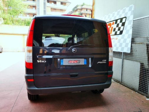 Mercedes Vito 123cdi powered by 9000 Giri