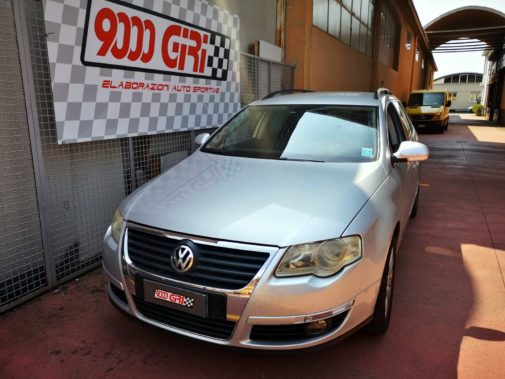 Vw Passat 1.9 tdi powered by 9000 giri