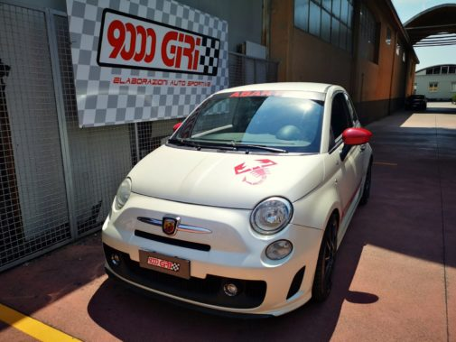 Fiat 500 Abarth 595 SS powered by 9000 Giri