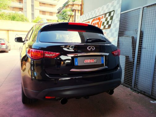 Infiniti Qx 70d powered by 9000 giri