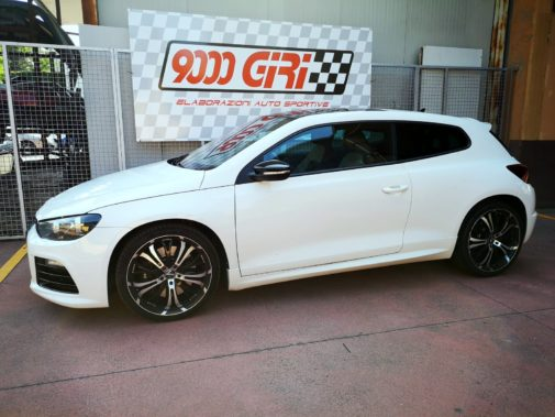 Vw Scirocco R 2.0 Tfsi powered by 9000 Giri