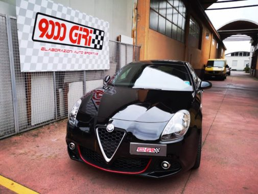 Alfa Romeo Giulietta 1.6 jtdm powered by 9000 Giri