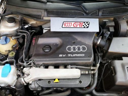 Audi A3 1.8 Turbo powered by 9000 Giri