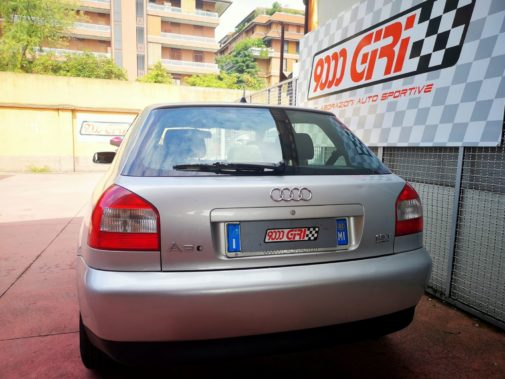 Audi A3 1.8 Turbo powered by 9000 Giri