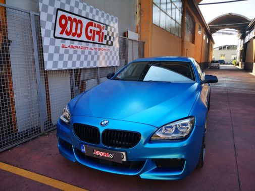 Bmw 640d powered by 9000 Giri