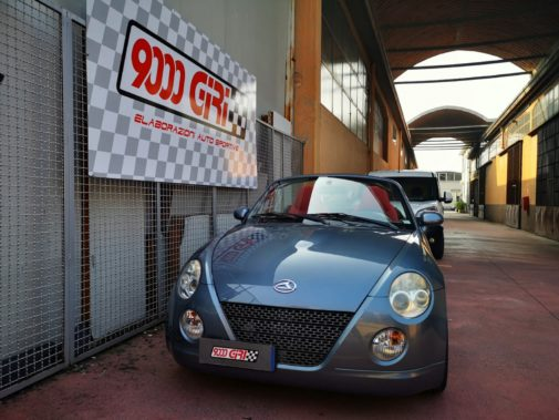 Daihatsu Copen powered by 9000 Giri