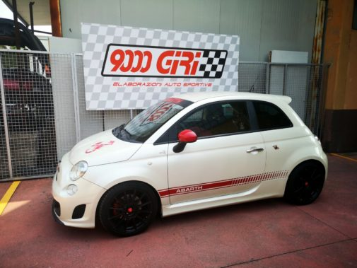 Fiat 500 Abarth powered by 9000 Giri