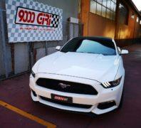"""Elaborazione Ford Mustang 3.7 V6 """"Doppia libidine"""""""