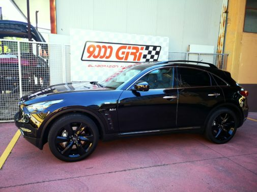 Infiniti Qx 70 3.0 tdi powered by 9000 giri