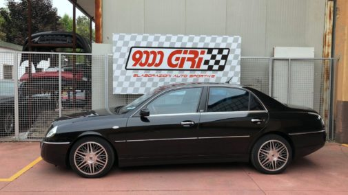 Lancia Thesis 2.4 jtd powered by 9000 giri