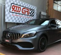 "Elaborazione Mercedes A220d ""Record"""