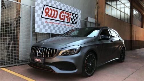 Mercedes A220d powered by 9000 Giri