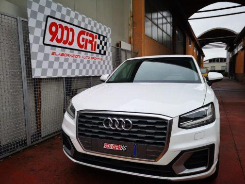 Audi Q2 1.6 tdi powered by 9000 Giri