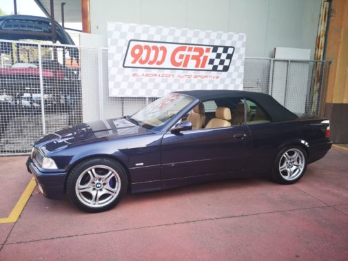 Bmw 328i e36 cabrio powered by 9000 Giri