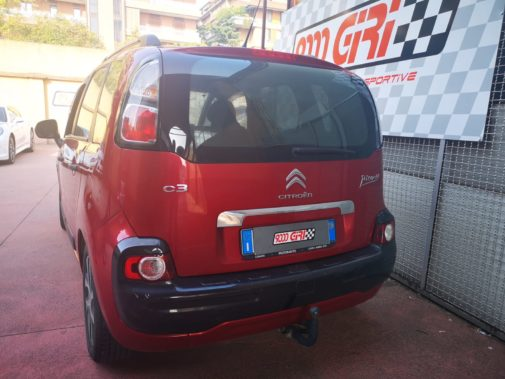 Citroen C3 Picasso 1.6 powered by 9000 Giri