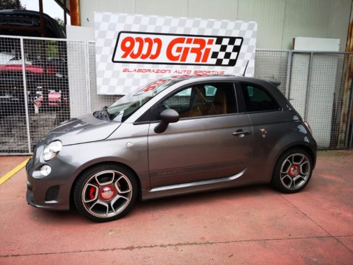 Fiat 500 Abarth 595 powered by 9000 Giri