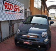 """Elaborazione Fiat 500 Abarth Competizione """"La tarantola"""""""