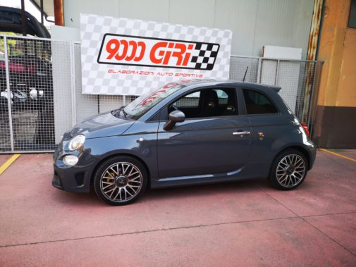 Fiat 500 Abarth Competizione powered by 9000 Giri