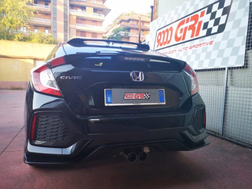Honda Civic 1.5 V-tec powered by 9000 giri