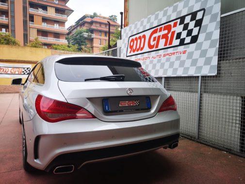 Mercedes cla 200 cdi powered by 9000 Giri