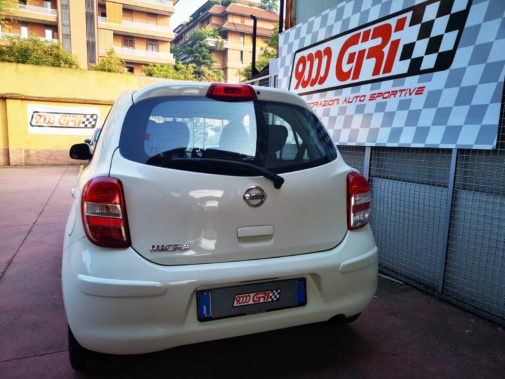 Nissan Micra powered by 9000 giri
