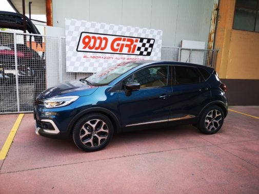 Renault Captur 0,9 tce powered by 9000 Giri