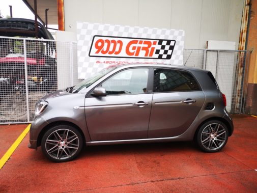 Smart Forfour powered by 9000 Giri