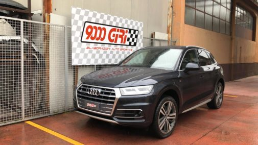 Audi Q5 2.0 tdi powered by 9000 Giri