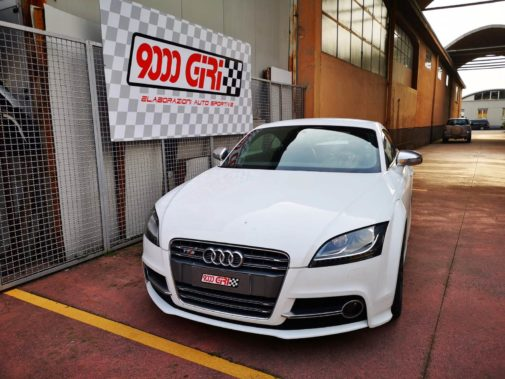 Audi Tts powered by 9000 Giri