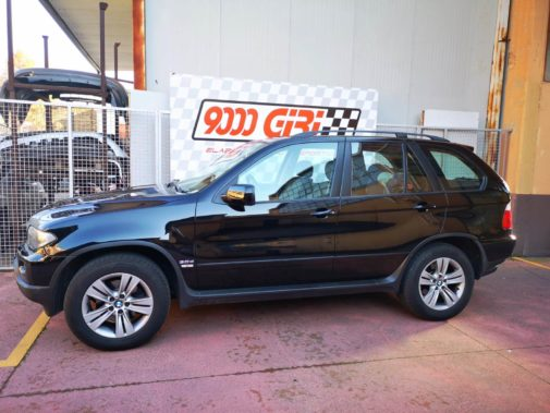 Bmw X5 3.0d powered by 9000 Giri