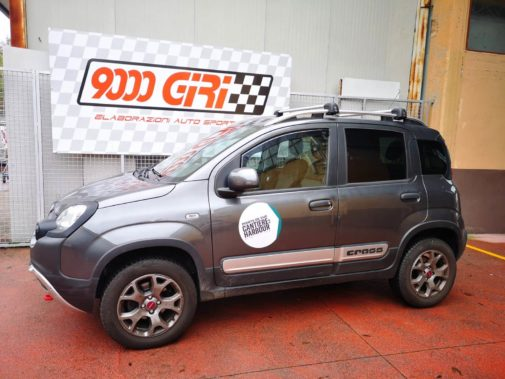 Fiat Panda Cross 1.3 Mjet powered by 9000 Giri