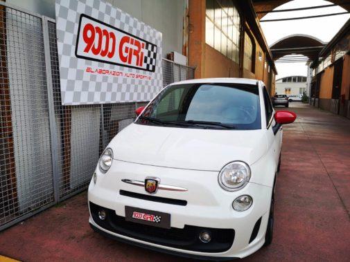Fiat 500 Abarth powered by 9000 Giri