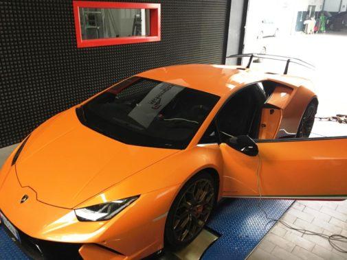 Lamborghini Huracan Performante 5.2 V10 640cv powered by 9000 Giri
