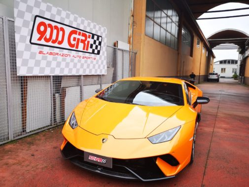 Lamborghini Huracan Performante 5.2 V10 640cv powered by 9000 Giri