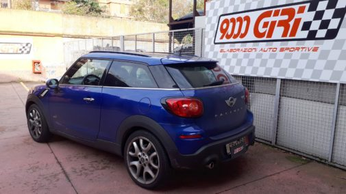 Mini Cooper Sd Paceman powered by 9000 Giri
