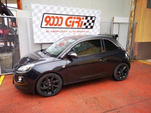 Opel Adam S powered by 9000 Giri